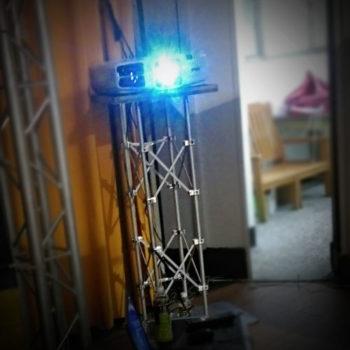 投影機周邊設備出租-1米立柱truss出租
